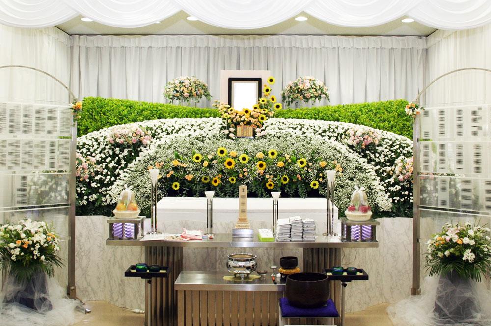 花祭壇 008   平野屋の葬儀・祭壇ギャラリー